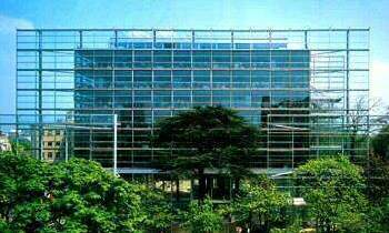 Fondation Cartier Building in Paris